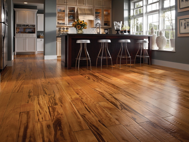Hardwood Floor - Home Stage